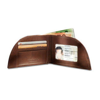 Rogue Wallet Pocket-Börse Für die vordere Hosentasche. Genial geformt. Aus unverwüstlichem Bisonleder. Und mit RFID-Schutz.