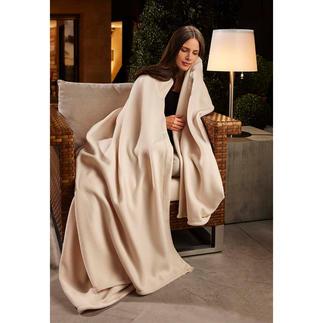 Wonder Blanket® Das Kingsize-Plaid der Luxusliner und Nobelhotels – aus flaumzartem, volumigem Fleece.