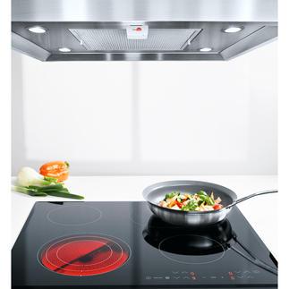 Herdalarm Endlich ein effektiver Schutz gegen Brandgefahr in der Küche. Warnt Sie unüberhörbar, wenn Ihr Kochfeld zu heiss wird.