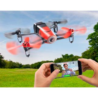 Bebop Drone oder Bebop Drone mit Sky-Controller Brandneu: die Parrot Hightech-Drohne mit faszinierenden Flug-Eigenschaften und Full-HD-Kamera.