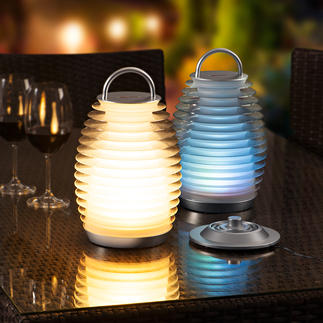 Mathmos® Bump Laterne Ihre neue Lieblingslampe: Kabellos. Stilvoll. Innen wie aussen vielseitig einsetzbar.