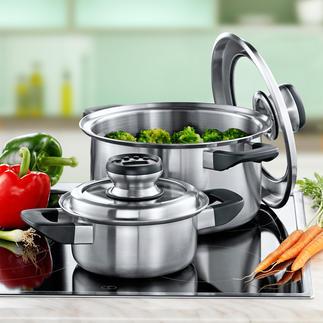 Smart Cooking-Topf Innovita® Gesundes Smart Cooking: erhält Ihren Speisen bis zu 3 x mehr Vitamine. Spart bis zu 80 % Energie.