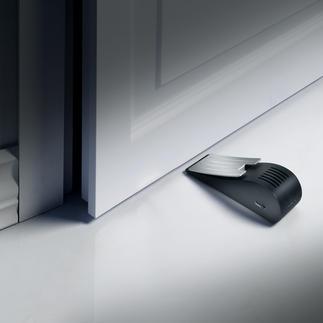 Alarm-Türkeil mit Erschütterungssensor Einfachster, aber wirksamer Schutz vor Einbrechern. Mit 120 dB lautem Alarmton.