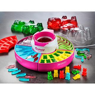 Gummibärchen-Maker Beliebte Gummibärchen – jetzt ganz einfach selbstgemacht. Aus ausgewählten Zutaten genau nach Ihrem Geschmack.
