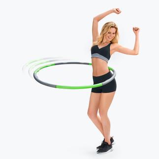 Fitness-Reifen Fitness-Reifen 2.0: Noch effizienter dank Massage-Effekt. Modelliert die Taille. Strafft den Bauch.