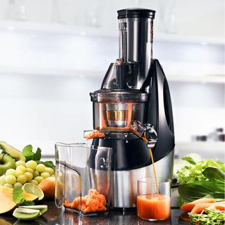 Caso Slow Juicer SJW450 Frische, gesunde Säfte – schonend kaltgepresst (statt zentrifugiert).