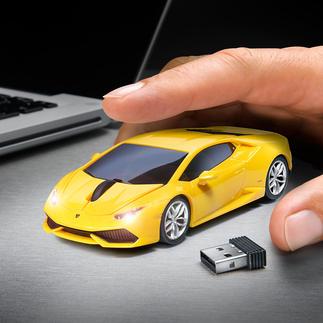 Wireless Car Mouse Eyecatcher auf Ihrem Schreibtisch: Die Funkmaus im Sportwagen-Design. So macht die Arbeit am PC viel mehr Spass.