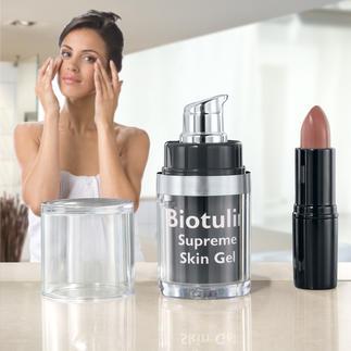 Biotulin Antifalten-Gel Das pflanzliche Biotulin-Gel ermöglicht sichtbar jüngeres Aussehen in nur 60 Minuten.