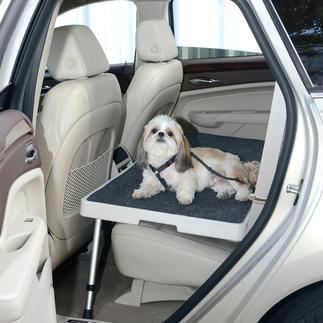 Car-/Dog-Deck Geräumig, kippfrei, stabil. Endlich ein sicherer Platz für Ihren Hund auf der Rückbank. Und für Einkäufe, Kartons, ...