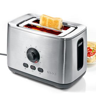 """Unold Turbo-Toaster """"Eco"""" Der vermutlich schnellste Toaster der Welt. Geniale Turbo-Funktion bräunt bis zu 50 % schneller."""