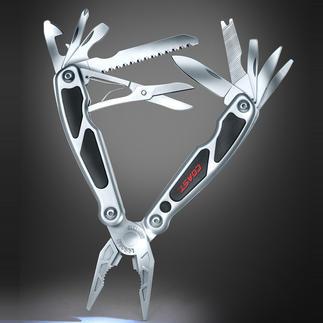 Coast® Multi-Tool LED140 14 Werkzeuge und eine LED mit bis zu 3 m Leuchtweite – in einem kompakten Tool.