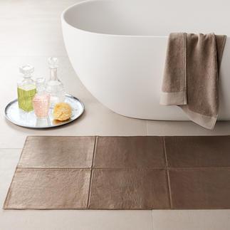 Leder-Teppich Seltener Luxus: Die extravaganten Teppiche aus softem Rindleder. Manufakturarbeit made in Germany.