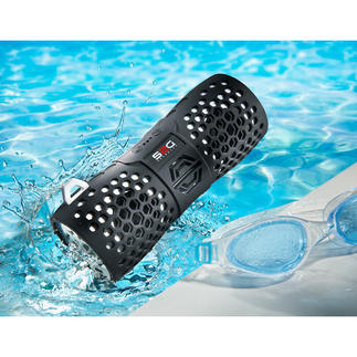 Bluetooth-Outdoor-Lautsprecher Stylisch. Soundstark. Wasserfest. Der kabellose Bluetooth-Speaker für Strand, Pool, Camping, Boot, ...