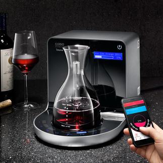 iSommelier Geniale Erfindung belüftet Ihren Wein mit hochkonzentriertem Sauerstoff. In wenigen Minuten (!).