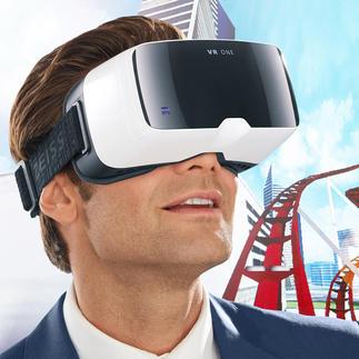 ZEISS VR ONE Brille Das bessere 3D-Erlebnis: Headtracking und 100°-Sichtfeld (statt oft nur 45°).