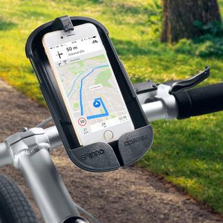 Fahrrad-Freisprechanlage Ohne Strom. Ohne Kabel. Sicherer unterwegs trotz Telefonieren, Navigieren, Musik hören, ...
