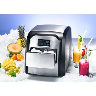 Design-Icemaker Cool. Kompakt. Komfortabel. Mit Edelstahlfront und Touch-Display.