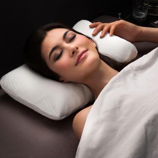 Visco-Cool-Reisekissen Geniessen Sie auch auf Reisen tiefen, erfrischenden Schlaf in heissen Nächten.