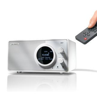 PlusRadioDAB+ Digitalradio neuester Stand. Gleichzeitig Bluetooth-Speaker für Ihre Mobilgeräte.