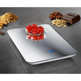 Design-Küchenwaage Edel verspiegelte Küchenwaage wiegt bis zu 10 kg (statt nur 3-5 kg)