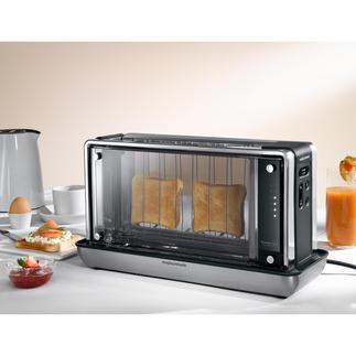 Thermoglas-Toaster Der Toaster der neuen Generation: Thermoglas-Nanofilm-Technologie statt sichtbarem Heizelement.