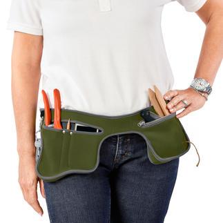 Garten-Holster poc-kit™ Mit dem Gartenholster haben Sie beide Hände frei bei der Gartenarbeit, beim Heimwerken, Hundespaziergang, Angeln, Radfahren...