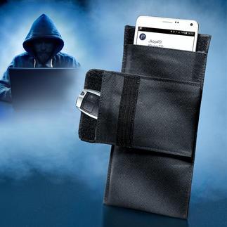Smartphone-Abschirmtasche Handy und Autoschlüssel: sicher wie 10 m dicker Stahlbeton.