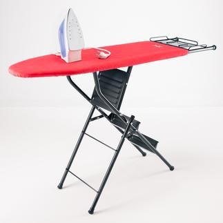 2-in-1 Bügeltisch/Leiter Doppelt hilfreich: Bügelbrett und 3-Stufen-Leiter in einem. Genial praktisch und platzsparend.