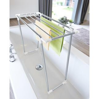 Platzspar-Wäscheständer Mit nur 39 cm Tiefe auch ideal für kleine Räume und schmale Balkone.
