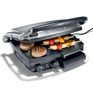 Caso Kontakt-/Tischgrill XXL Perfekt gegrillte Steaks, Burger, Gemüse, ... direkt aus Ihrer Küche. Jetzt spielend auch für viele Gäste gleichzeitig.