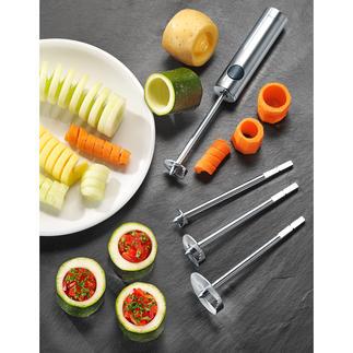 Lurch Twister Einfacher, schneller und sauberer können Sie Früchte, Auberginen, Gurken, ... kaum aushöhlen.