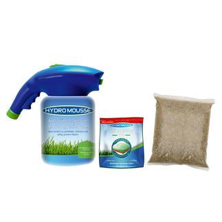 Hydro Mousse™ Sprührasen Das Begrünungssystem der Profis. Jetzt auch für den Hausgebrauch.