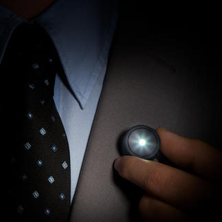 Magnetische Ansteckleuchte Kleiner Aufwand für viel mehr Sicherheit. Macht Sie bei Dunkelheit besser sichtbar.