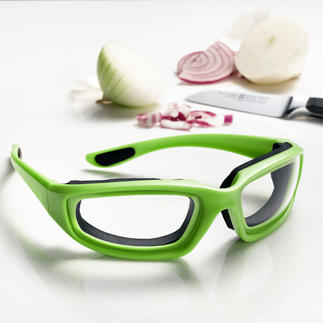 Zwiebelbrille Zwiebelschneiden ohne Tränen. Mit der luftdicht schliessenden Schutzbrille.