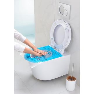"""Pump & Clean Abflussfrei-Folie, 12er-Set Geniale Erfindung """"bläst"""" verstopfte Toiletten ruck-zuck frei. In Sekunden."""