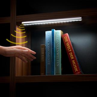 Akkubetriebenes LED-Sensorlicht Genial: das kabellose Sensor-Licht für alle Schränke, Schubladen, Treppenaufgänge, ...