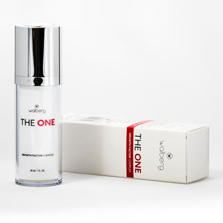 """""""The One"""" Gesichtspflege 30 ml im hygienischen Pumpspender mit Drehverschluss – ausreichend für ca. 100–120 Anwendungen."""