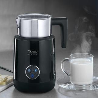 Caso 2-in-1-Milchaufschäumer Mit herausnehmbarer (statt fest eingebauter) Spirale. 100 % hygienisch zu reinigen.