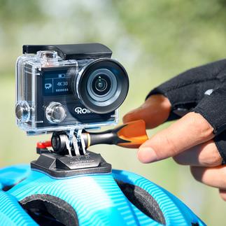 Rollei Action-Cam 430 Gigantische 4K Ultra-HD-Auflösung. Bei 30 Bildern pro Sekunde.