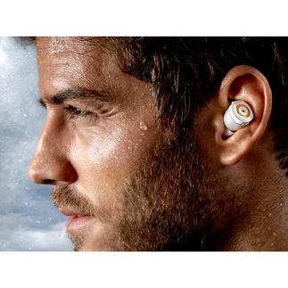 True Wireless In-Ear-Kopfhörer Endlich wirklich kabellos. Mit besonders stabiler Bluetooth 4.1-Übertragung und erstklassigem Stereo-Klang.