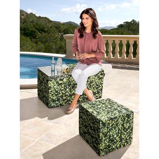 Hainbuchen Möbel Die Buchenhecke zum Sitzen. Und als originelle Ablage. Für Drinnen und Draussen. Perfekt als Hocker, Bank, Beistelltisch.