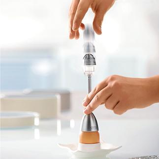 Eierköpfer mit Salzstreuer Mit integriertem Salzstreuer. Funktioniert zuverlässig - jedes Mal.
