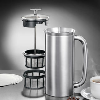 Espro®-French-Press Endlich vollmundiger French-Press-Kaffee ohne Kaffeesatz.