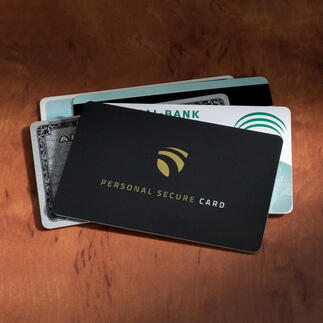RFID Secure-Card Die wohl einfachste Art, Ihre Karten vor Datendiebstahl zu schützen.
