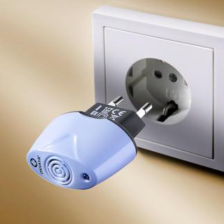 Antimilben-Stecker 230-V-Gerät oder Batteriebetriebenes Antimilben-Gerät Weniger allergische Reaktionen auf Hausstaub dank Antimilben-Stecker. Jetzt auch mit Batteriebetrieb.