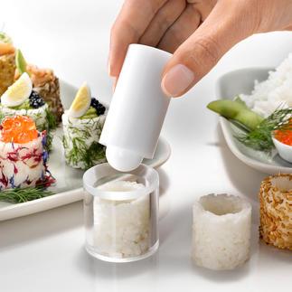 Easy-Fingerfood-Form Ihr Gourmet-Fingerfood: köstlich wie Sushi. Aber genial einfach und schnell gemacht.