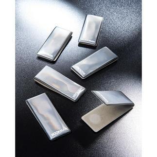Magnet-Retro-Reflektoren Kleiner Aufwand für ein grosses Plus an Sicherheit.