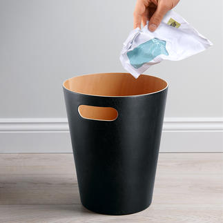 """""""Woodrow"""" Papierkorb Der Papierkorb vom Feinsten: aus einem einzigen Buchenholz-Furnier gebogen."""