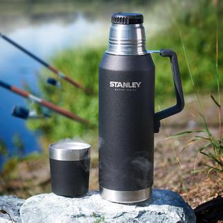 Stanley 1,3-l-Isolierflasche MASTER Series Die Heavy-Duty-Isolierflasche aus den USA: hält Getränke 40 Stunden (!) heiss und 35 Stunden kalt.
