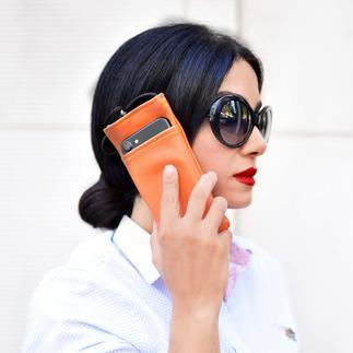 eWall®-Strahlenschutz-Tasche Elegant und hocheffektiv: die eWall®-Strahlenschutz-Tasche für Ihr Smartphone.